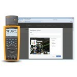Multimetro Digital CAT IV 600V  TRUE-RMS  c/ registro e TrendCapture - Fluke 287