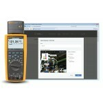 Fluke-287 Multimetro Digital CAT IV 600V  TRUE-RMS  c/ registro e TrendCapture