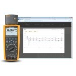 Fluke-289/FVF  Multimetro Digital CAT IV 600V  TRUE-RMS  c/ registro, TrendCapture e KIT c/Software