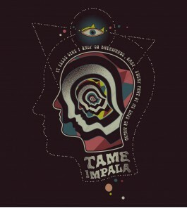 Camiseta Tame Impala - Backwards - Feminino
