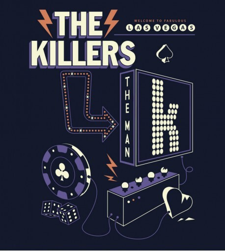 Camiseta The Killers - The Man 1 - Masculino