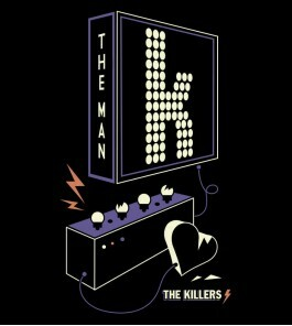 Camiseta The Killers - The Man 2 - Feminino