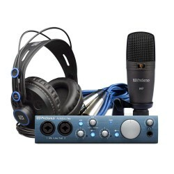 Kit Interface Áudio PreSonus AudioBox iTwo Studio
