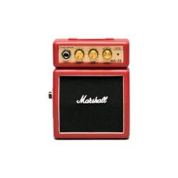 Mini Amplificador Marshall Ms-2r-e Para Guitarra 1 Watt