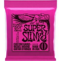 Encordoamento Guitarra Ernie Ball Super Slinky 009 2223