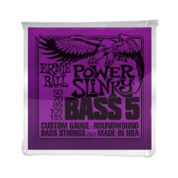 Encordoamento Baixo Ernie Ball 5 Cordas 2821 050-135