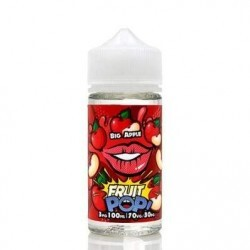 LIQUIDO PREMIUM CANDY POP 100ML - BIG APPLE