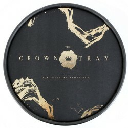 PRATO REGAL CROWN TRAY BLACK