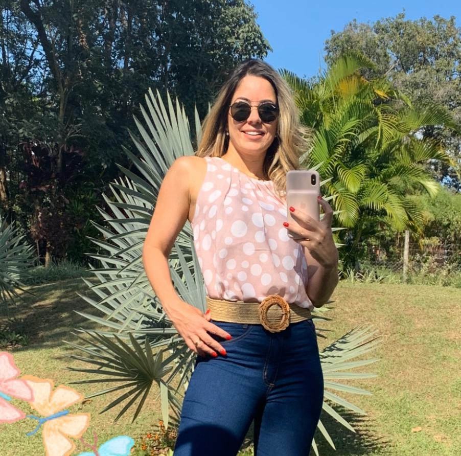 Blusa Estampada Kimberly