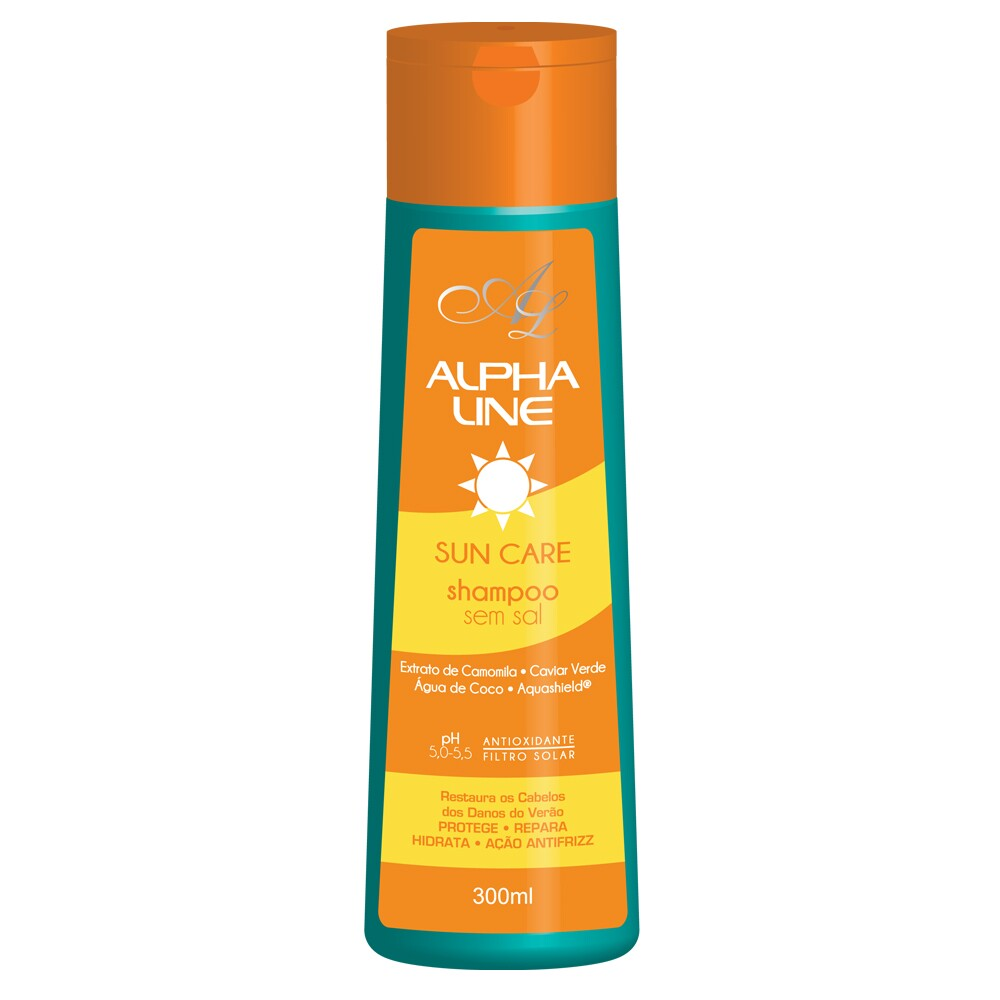 Shampoo Sun Care 300ML - Alpha Line