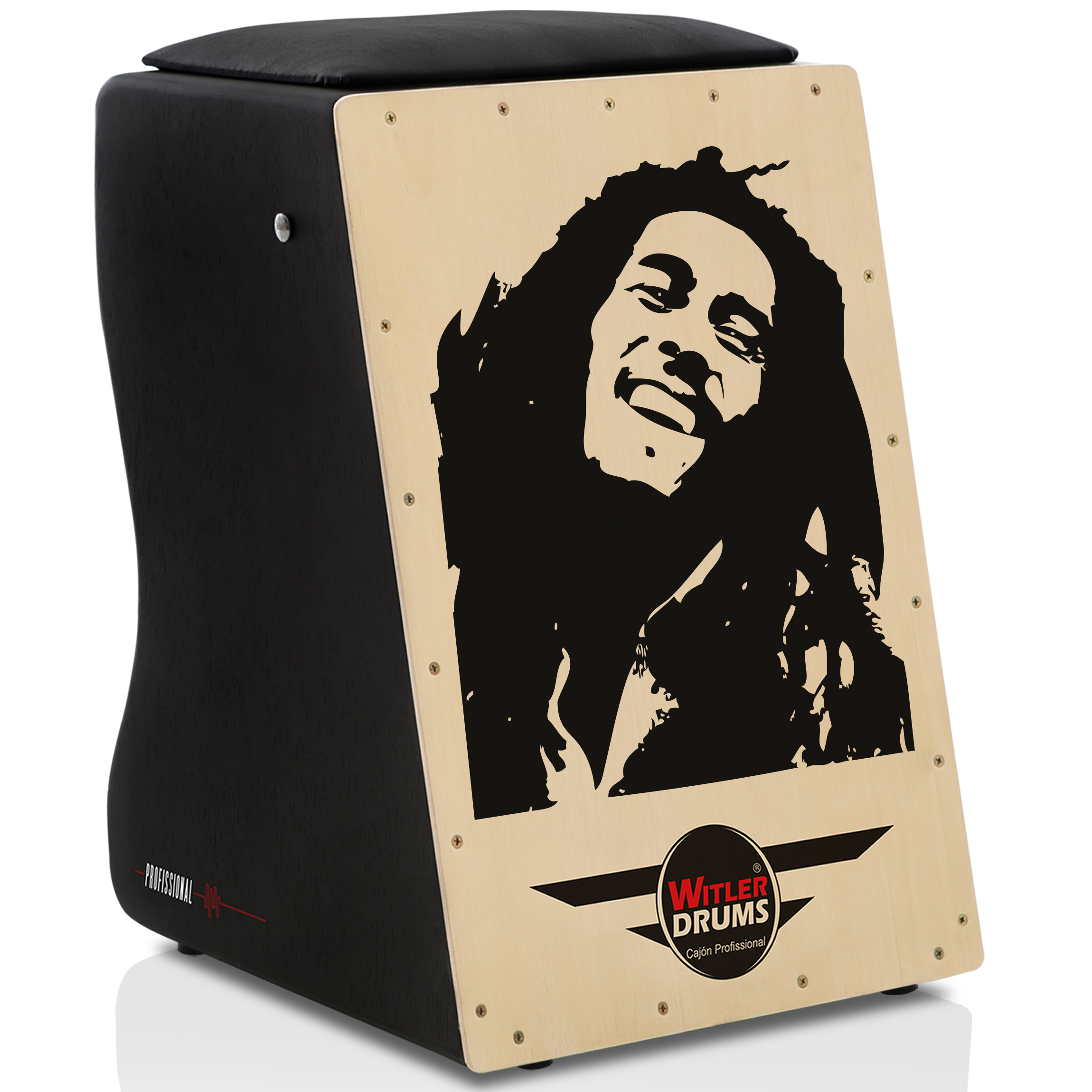 Cajón Personalizado Inclinado Black | Tampa Natural | NIRVANA