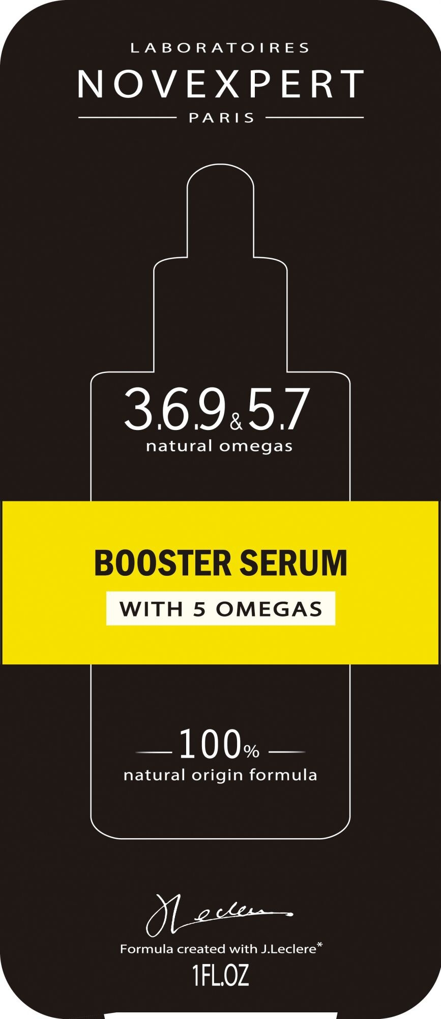 BOOSTER SERUM WITH 5 OMEGAS NUTRITION