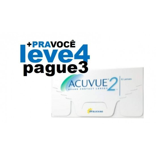 Combo Acuvue 2 - Leve 4 e Pague 3