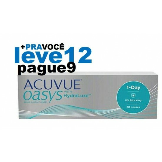 Combo Oasys 1 Day - Leve 12 e Pague 9