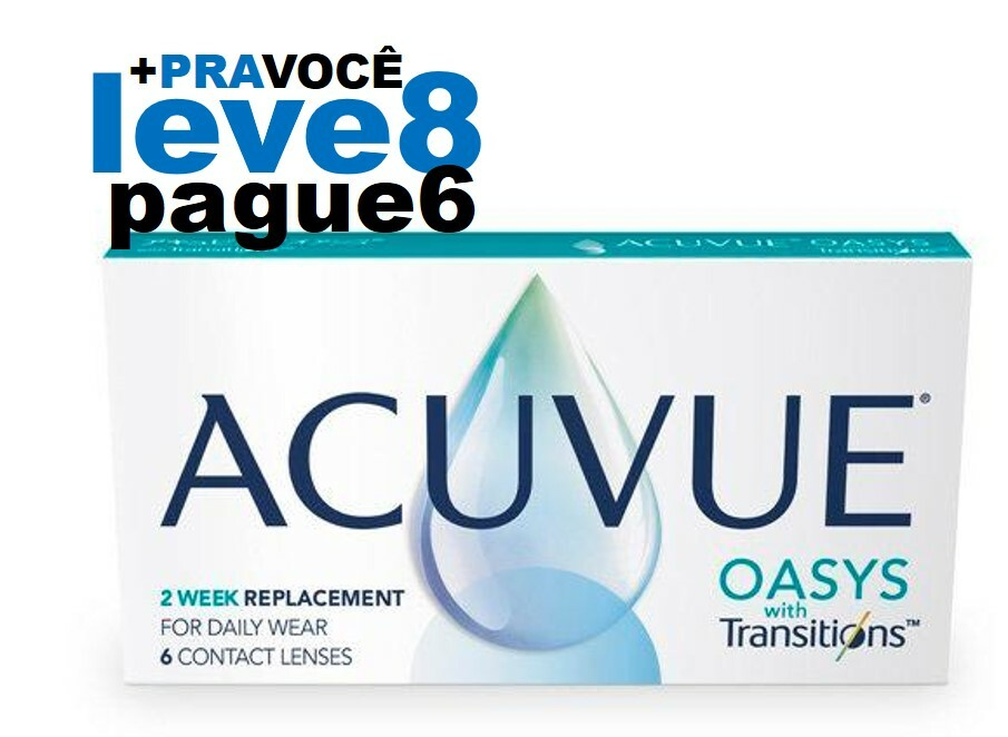 Combo Oasys Transitions  - Leve 8 e Pague 6