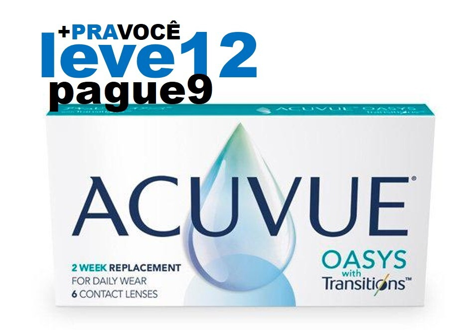 Combo Oasys Transitions  - Leve 12 e Pague 9
