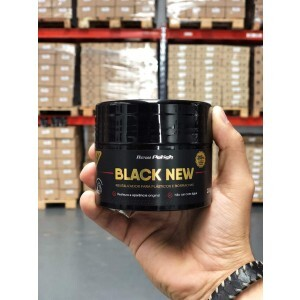 BLACK NEW REVITALIZADOR PLASTICOS NEW POLISH - 200GR