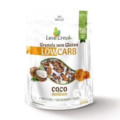 Granola Coco e Damasco - LOW CARB - 200g